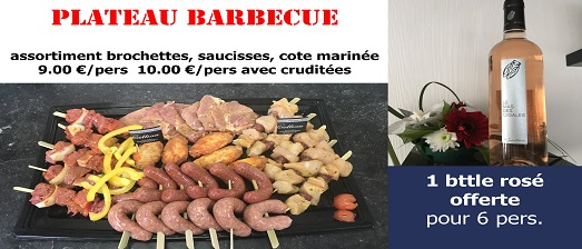 Plateau Barbecue